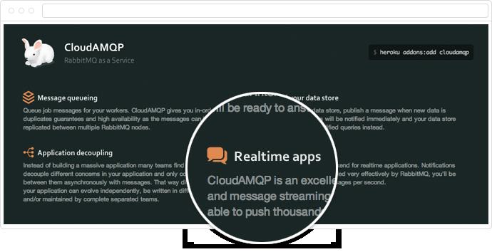 Add-on Benefits: CloudAMQP