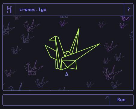 Experimental logo support, Cranes logo