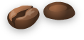 Two beans wide