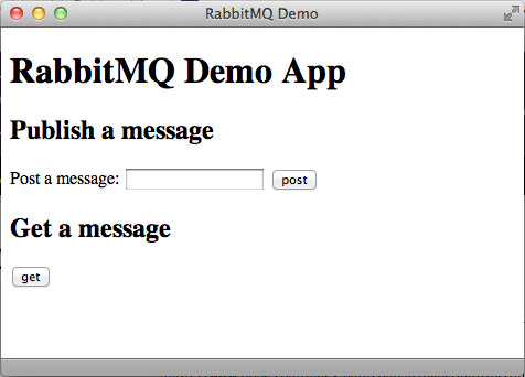 RabbitMQ Demo