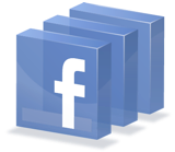 Facebook App 3D logo