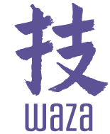 Waza text in Japanese
