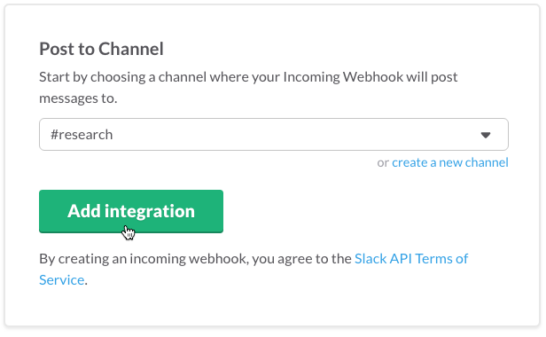 slack how to add a channel