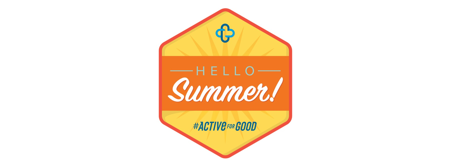 "Active For Good ""Hello Summer"" badge"