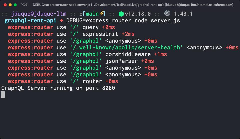 Debug module filtered output